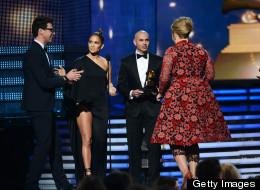Vitalii Sediuk crashed the Grammy awards.
