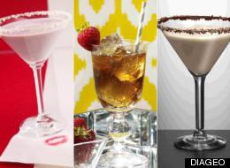 Recetas de bebidas para San Valentín.