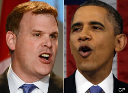 Canada can teach the United States some lessons on reducing greenhouse gas emissions, Foreign Affairs Minister John Baird said Sunday in a blunt rejoinder to recent chiding by the Obama administration on climate change. (CP)