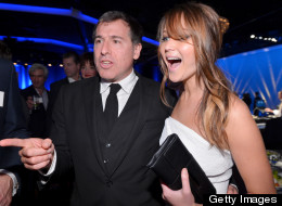 Jennifer Lawrence and David O. Russell: together again.